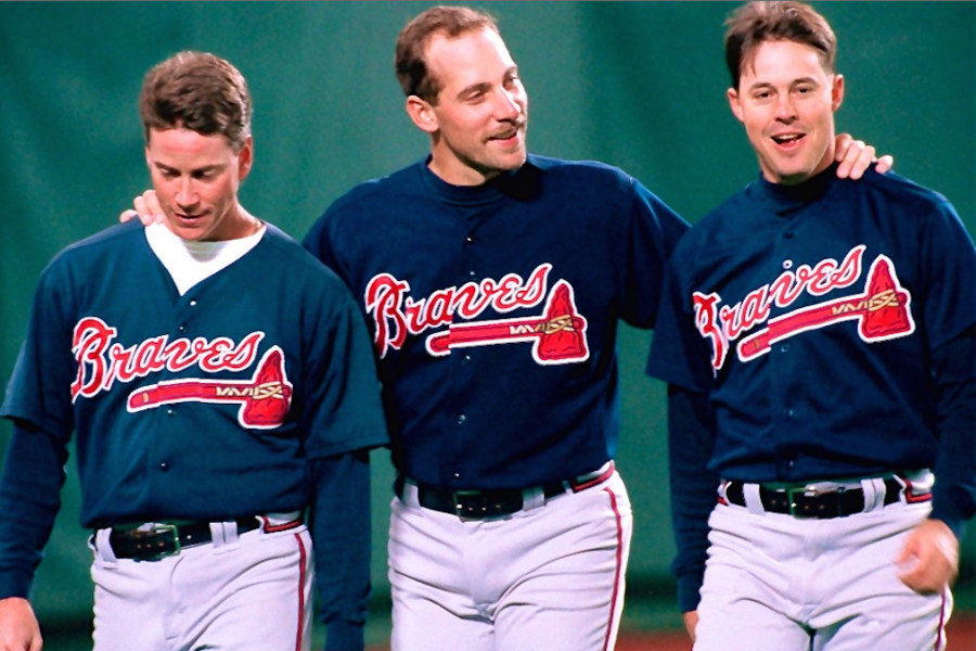buy online 7f166 30eb4 Will We Ever See Another Maddux-Glavine-Smoltz Rotation Trio ...