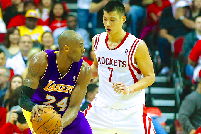 4cb32e292525 How a Kobe Bryant and Jeremy Lin Backcourt Can Work for LA Lakers ...