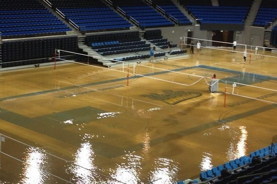 UCLA's Pauley Pavilion and Drake Stadium Flooded After Water