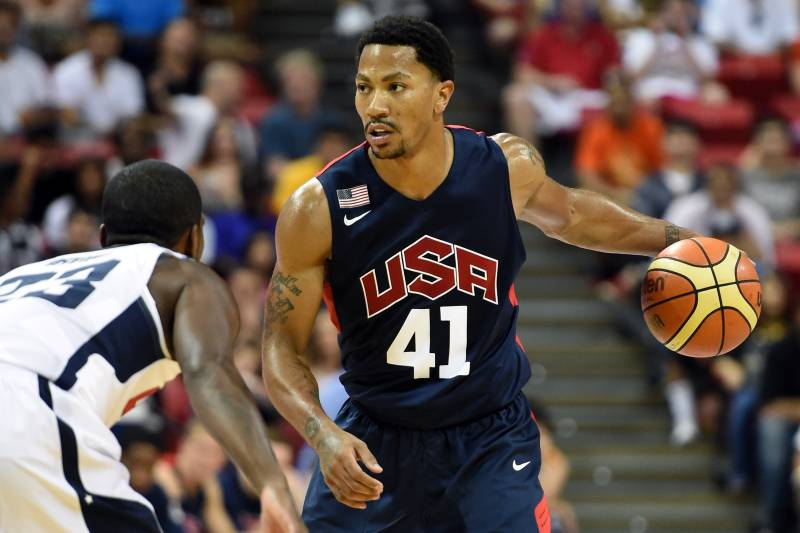 e1399cd6fa7e What Chicago Bulls Fans Want to See from Derrick Rose in FIBA ...