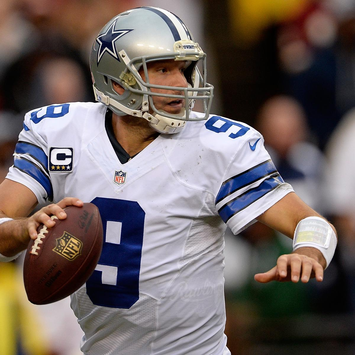 San Diego Chargers Dallas Cowboys: Tony Romo Out For Dallas Cowboys' Preseason Opener Vs. San
