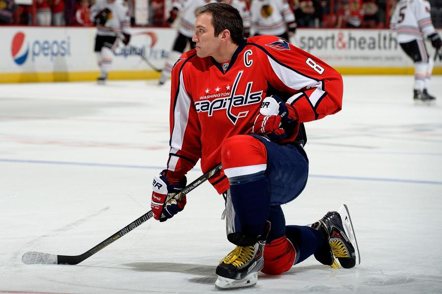1c43d095872 Will Alex Ovechkin Be a 50-Goal Scorer for the Barry Trotz-Led Capitals