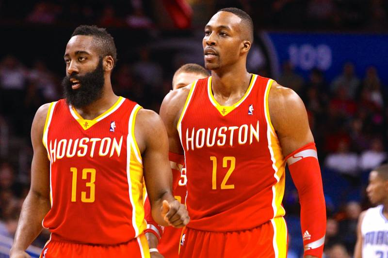 3149c37db5a1 Do Dwight Howard and James Harden  Eat Separately  from Rockets Teammates