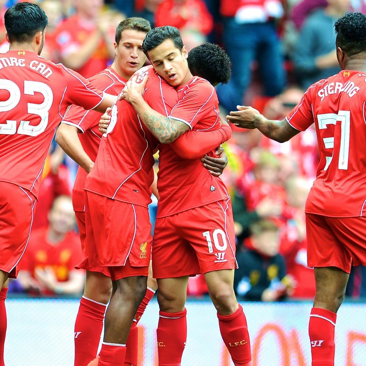 Liverpool Fc On Twitter Full Time Lfc Beat Barca 4 0