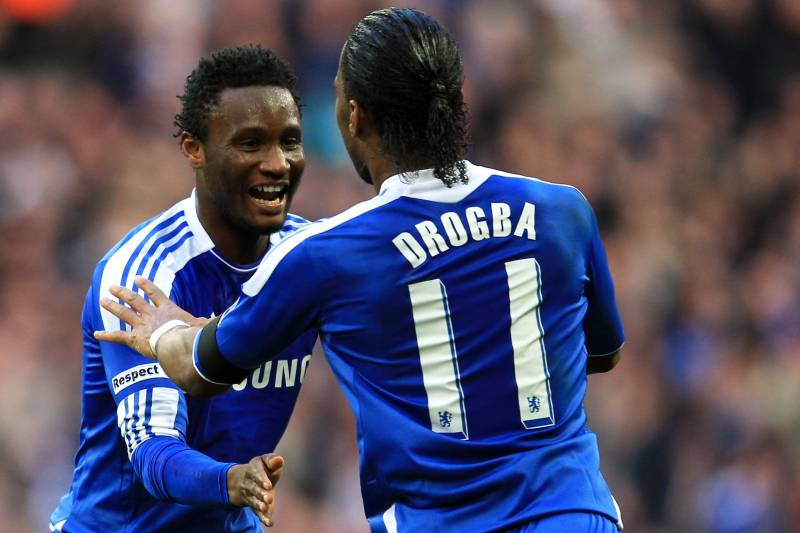 newest collection 76aec 6c81e Didier Drogba Gets His No. 11 Chelsea Shirt Back from Oscar ...