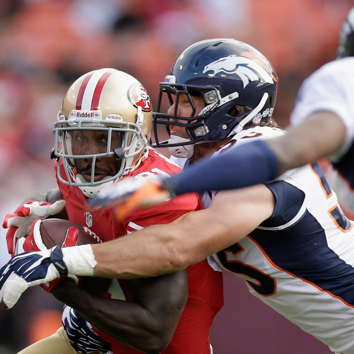Denver News Weekly: San Francisco 49ers Vs Denver Broncos: 49ers' Preseason