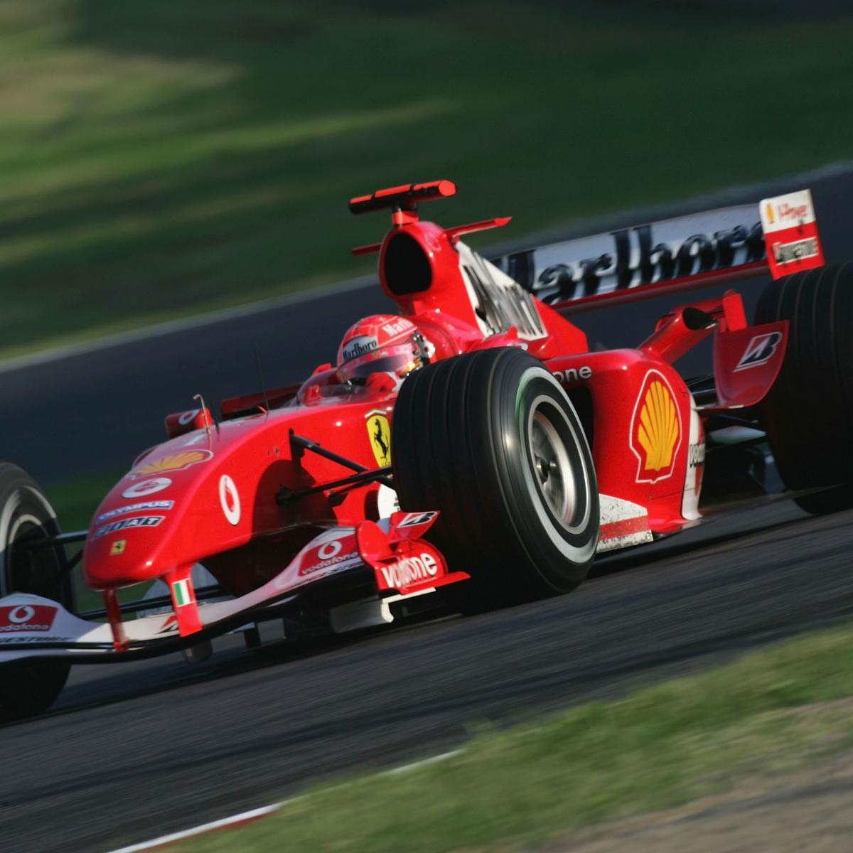 Comparing A Formula 1 Car In 2014 With Its Equivalent From