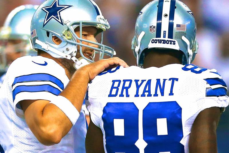 Tony Romo Dez Bryant Already Answering Big Questions Facing