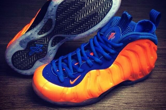 sports shoes 697d5 bac69 Spike Lee's Knicks Foamposites Set to Hit Stores in Near ...