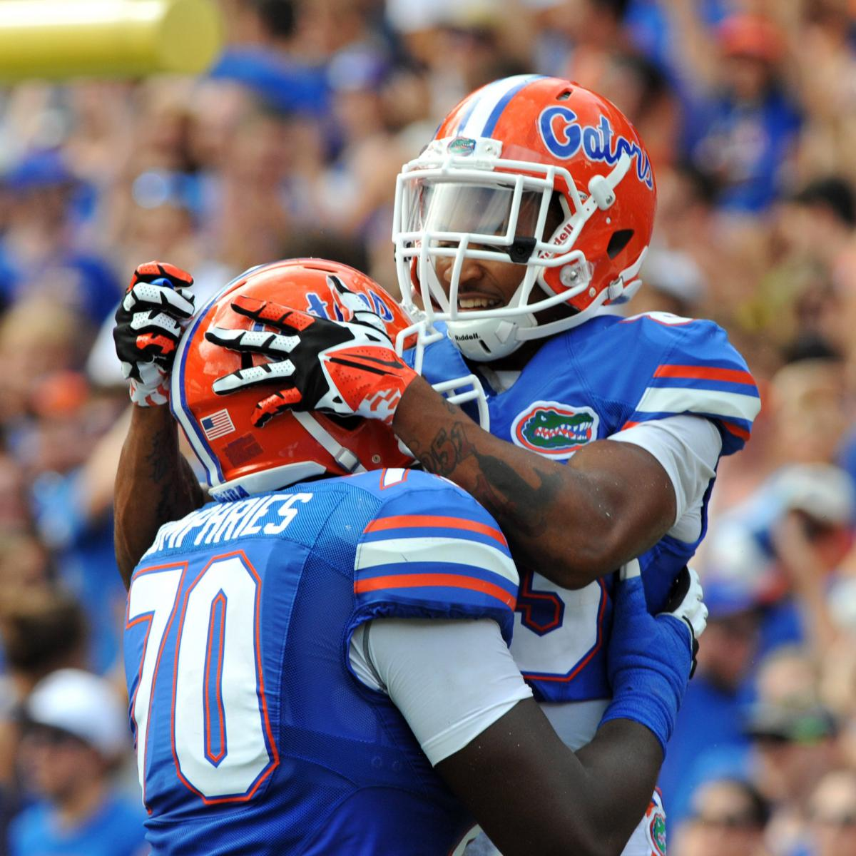 Florida Gators Football: Final Game-by-Game Schedule ...