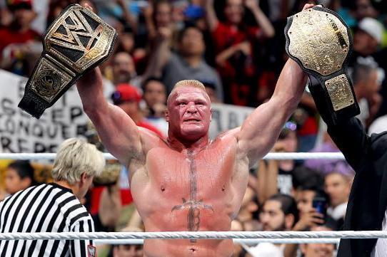 Brock Lesnar Comments On Summerslam Win Wwe Title Belt In