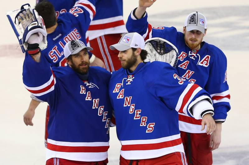 How Should Rangers Split Time Between Henrik Lundqvist Cam Talbot