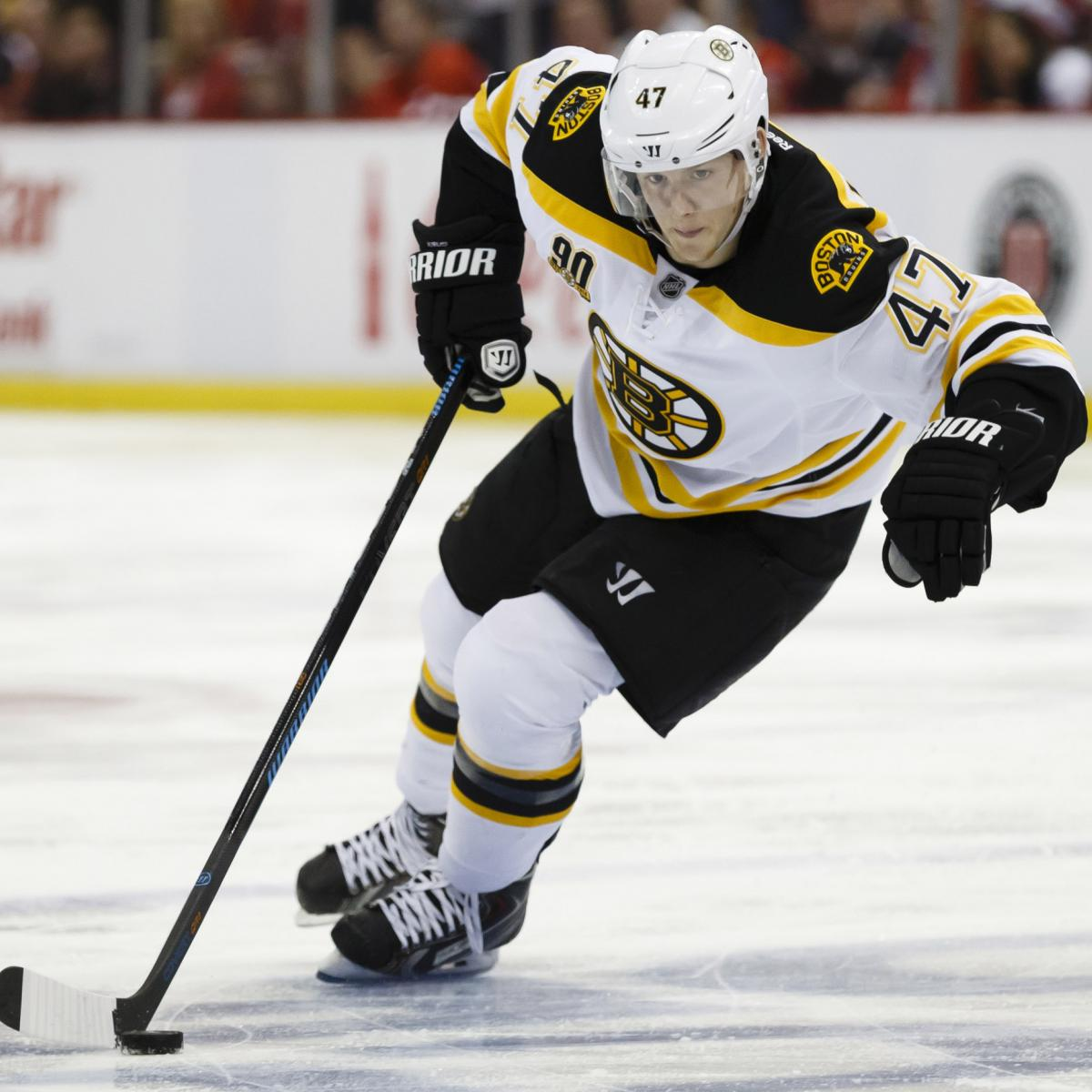 Ranking the Boston Bruins' Top 10 Prospects | Bleacher ...Bruins Bleacher Report