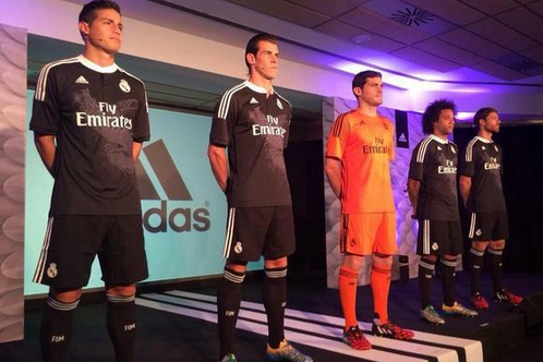 6abddf115 Real Madrid Finally Unveil 3rd Kit for 2014 15 Champions League with Dragons