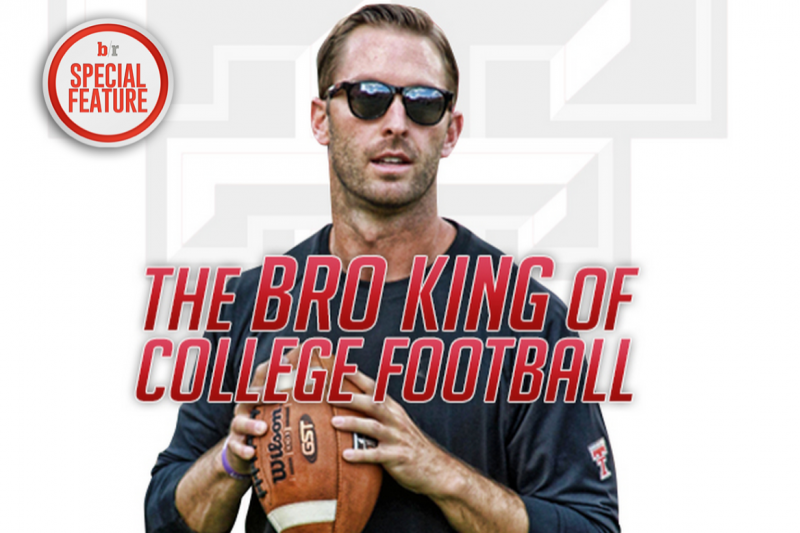 Kliff Kingsbury: A Day in the Life of Hottest Young Coach in