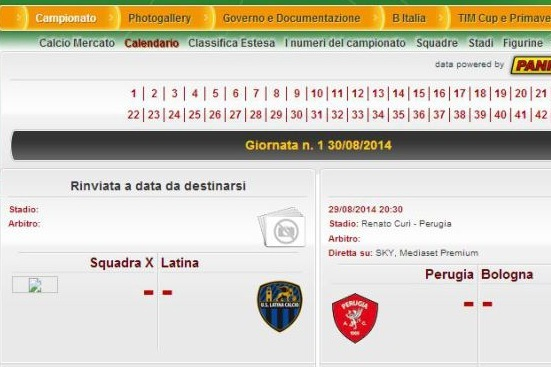 Calendario Serie B 18 19.Team X Scheduled To Play In Serie B Just 3 Days Before