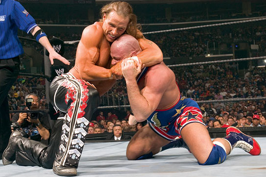 WWE Classic of the Week: Shawn Michaels vs. Kurt Angle, Vengeance ...