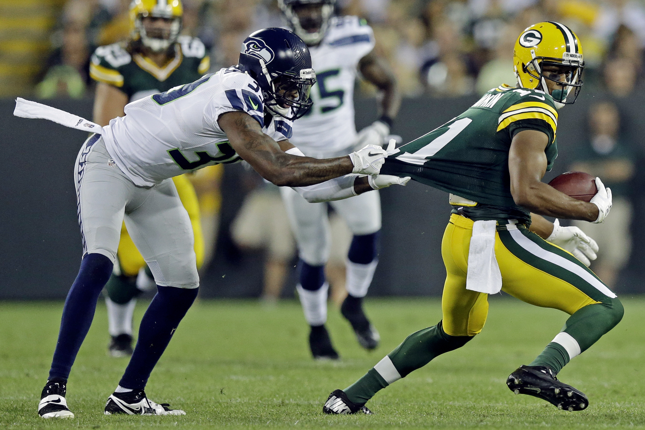 a64a22ff95d Green Bay Packers vs. Seattle Seahawks: Spread Analysis and Pick ...