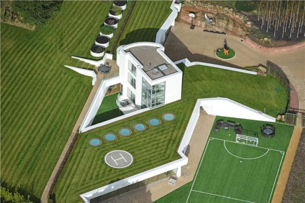 Mario Balotellis Hus i Liverpool, UK
