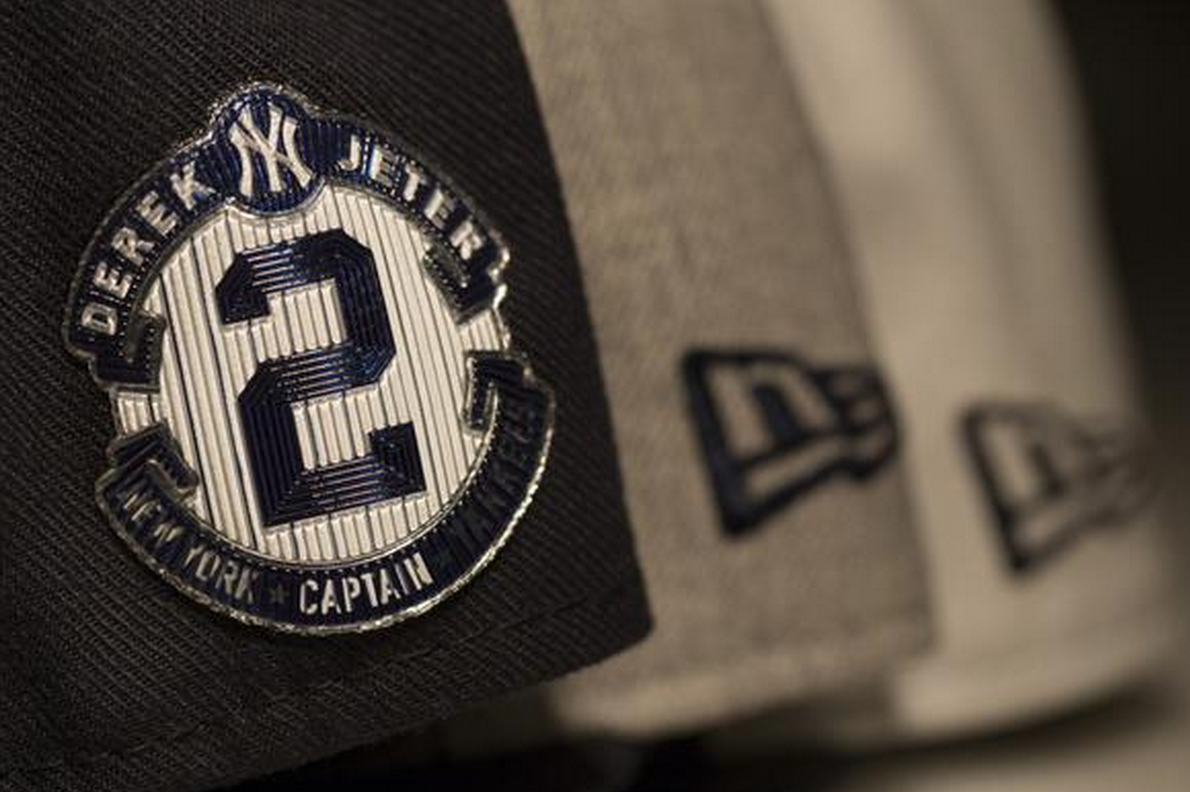 17b14b563 New York Yankees to Wear Patches on Hats and Uniforms in Honor of Derek  Jeter