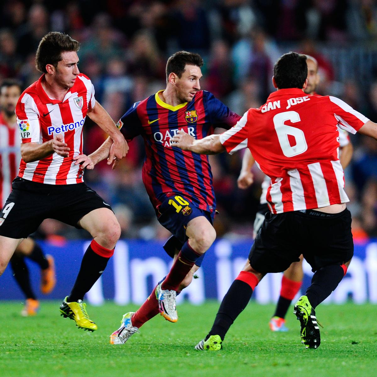 Barcelona vs. Athletic Bilbao: How Barca Will Line Up in ...