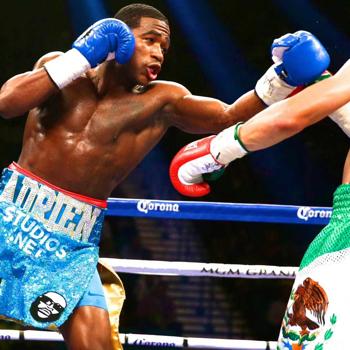 Broner Vs. Taylor: Live Round-by-Round Results And
