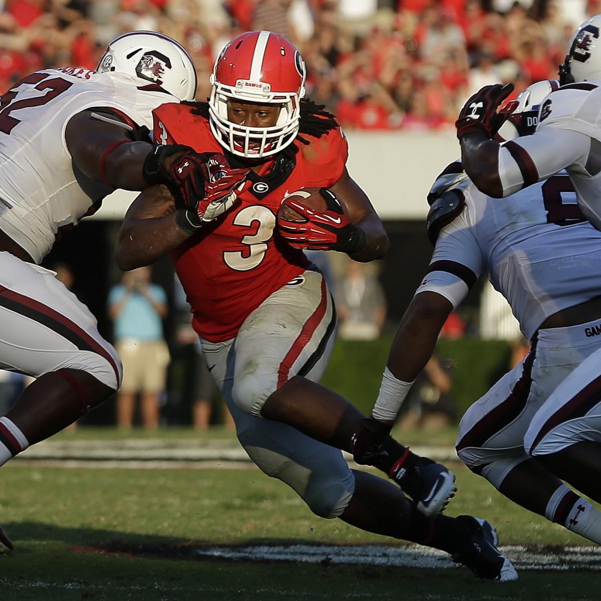 Georgia vs. South Carolina: TV Info, Spread, Injury ...