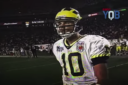 new products ddac8 38026 Throwback Thursday: Tom Brady Leads Michigan Past Alabama in ...