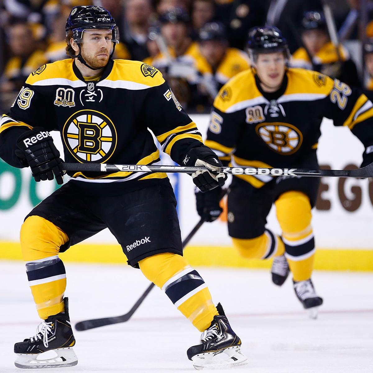 Boston Bruins RFA Holdouts Are a Silver Lining for ...Bruins Bleacher Report