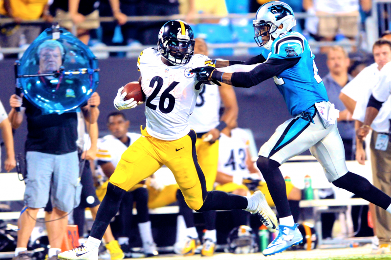 7869e4159b5 Steelers vs. Panthers: Score and Twitter Reaction from Sunday Night ...