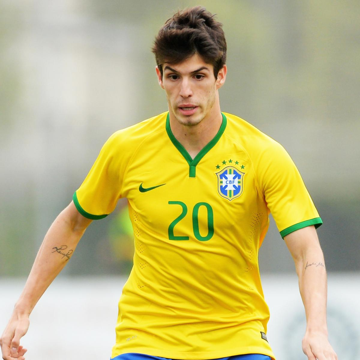 Lucas Soccer Player: Lucas Piazon Exclusive: Brazil Star On Chelsea Hopes And