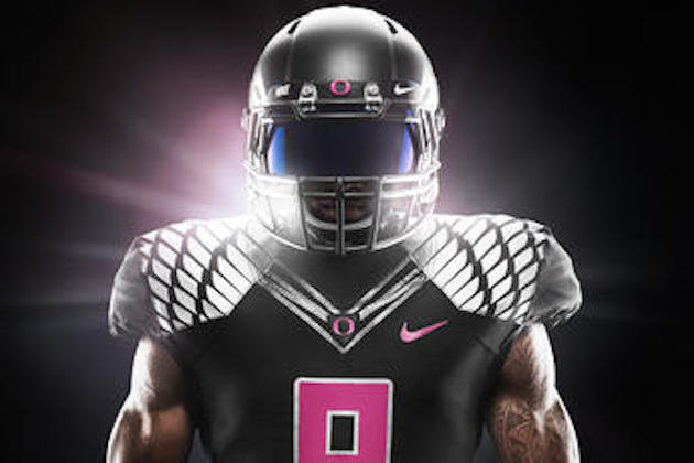 new style cc2a5 c2ed3 Oregon Unveils New Pink Uniforms That Support Breast Cancer ...