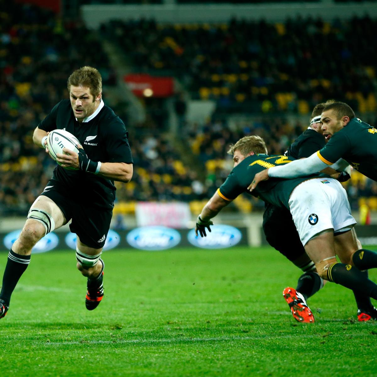 All Blacks Julian Savea Is Caught By Cornal Hendricks: South Africa V New Zealand: 5 Key Battles That'll Shape