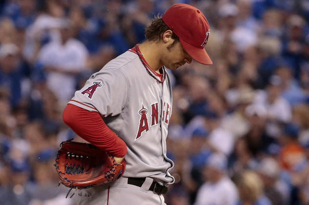 2871ec99 2014 MLB Playoffs: The Fall of the Los Angeles Angels | Bleacher ...
