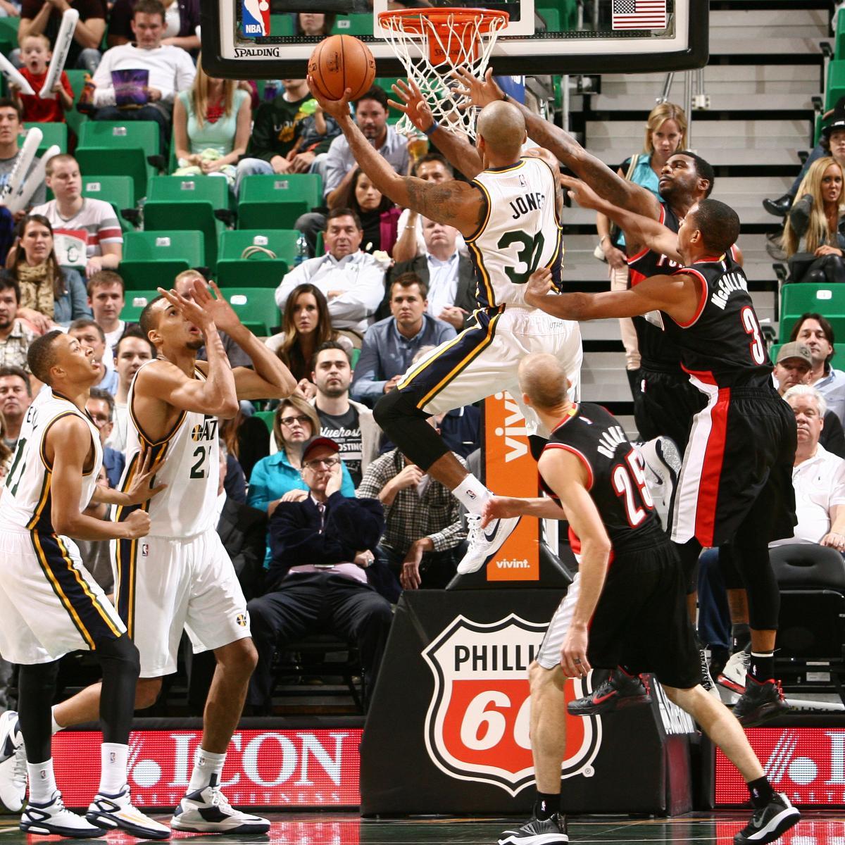 Portland Trail Blazers Vs. Utah Jazz 10/7/14: Video