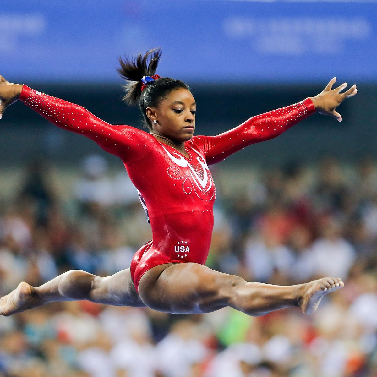 Spectacular photos show gymnasts gravity-defying skills