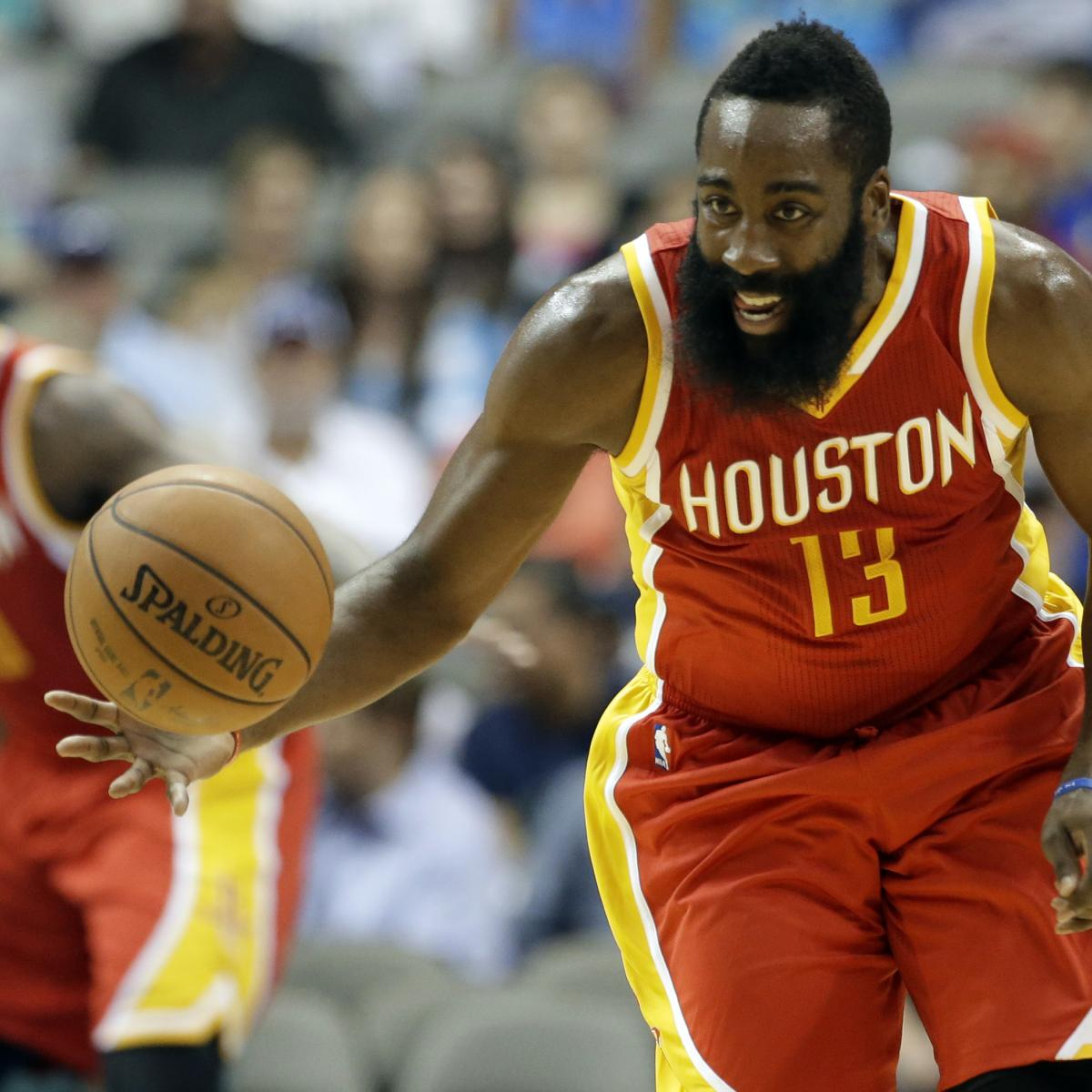 James Harden Injury Report: James Harden Injury: Updates On Rockets Star's Hamstring