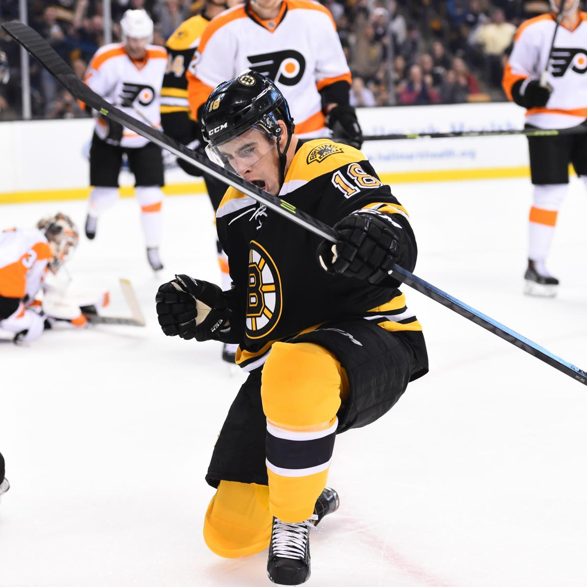 Flyers Vs Bruins: Live Score, Highlights And Reaction