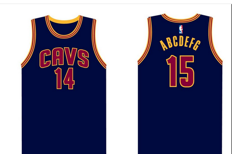 9baab25949f7 Cleveland Cavaliers Unveil New Navy Alternate Uniforms for 2014-15 Season