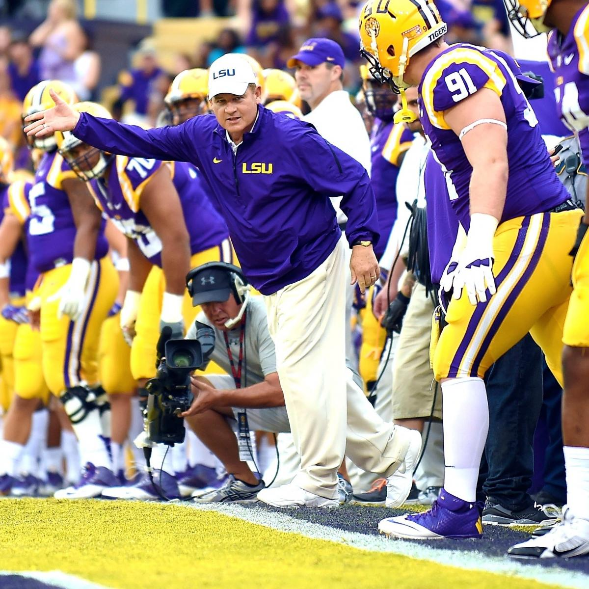 Mark Blaudschun's Blitz: Beware the Sleeping Tigers of LSU