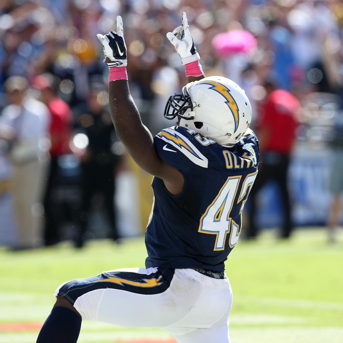 San Diego Chargers Fantasy Football Names: Branden Oliver Will Continue Breakout In Week 6 Vs