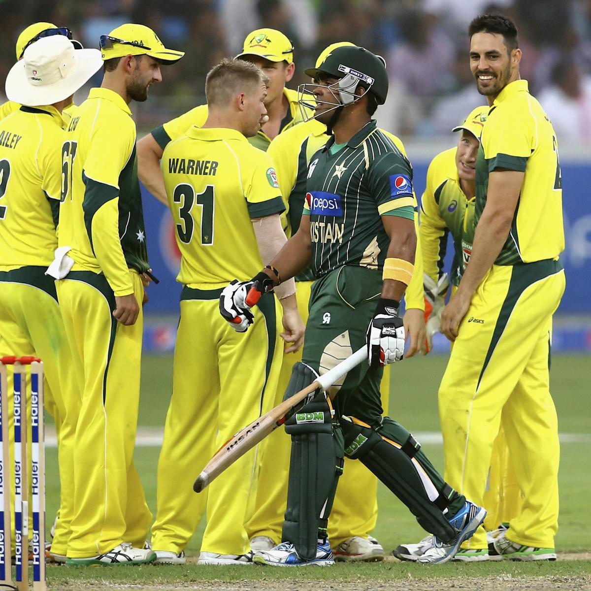 Pakistan Vs. Australia, 3rd ODI: Date, Live Stream, TV