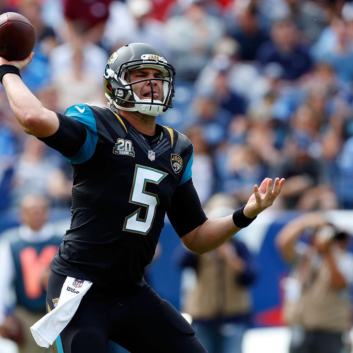 The decision to extend Blake Bortles contract doesnt stem from the quarterbacks ability It isnt a product of what he showed in the postseason during