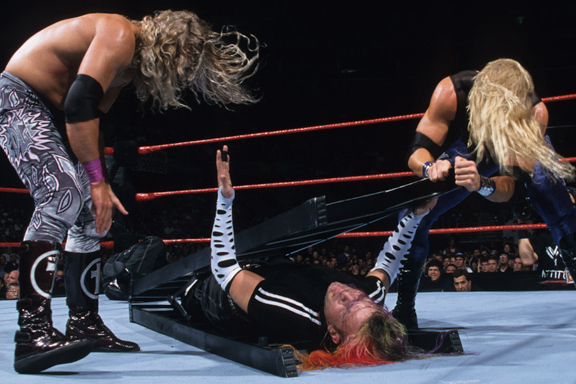 Wwe Classic Of The Week Edge And Christian Vs Hardy Boyz From No Mercy 1999 Bleacher Report Latest News Videos And Highlights