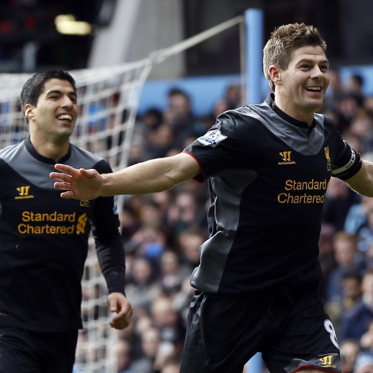 Luis Suarez And Steven Gerrard Reunited: Steven Gerrard Admits Liverpool Miss Luis Suarez At Golden