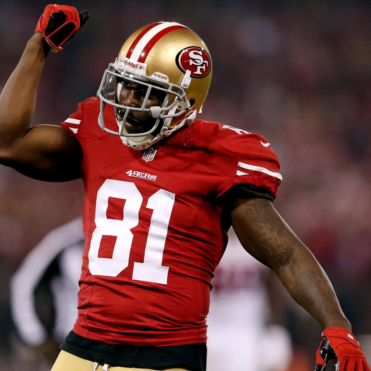 Anquan Boldin Injury: Updates on 49ers Star's Hamstring ...
