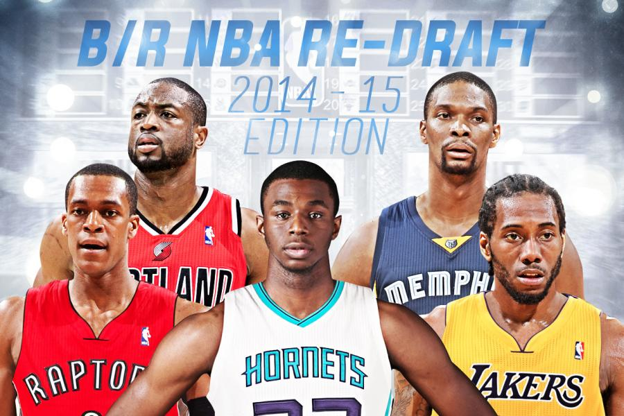 18d190ad8 Bleacher Report s Ultimate 2014-15 NBA Re-Draft  Full 13-Round Results