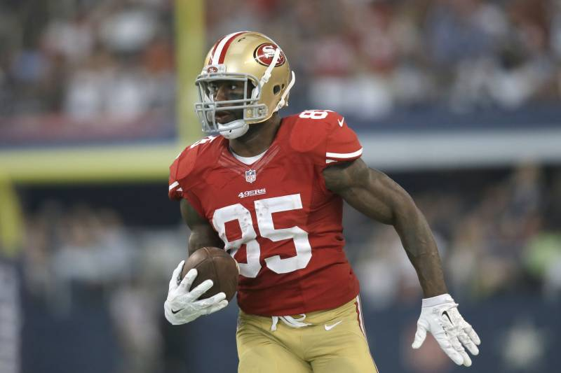 brand new f018f 4321e Why Vernon Davis Is No. 1 Key to San Francisco 49ers' Second ...