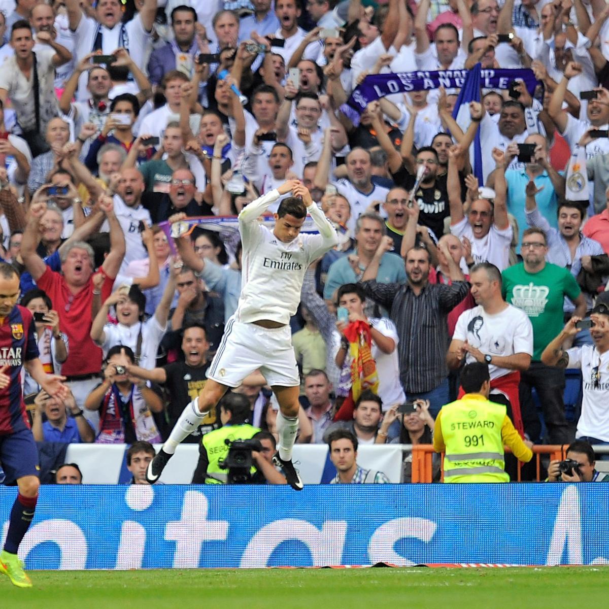 Cristiano Ronaldo S 4 Goals Lead Real Madrid To Win Vs: Twitter Reacts To Cristiano Ronaldo, Karim Benzema, James