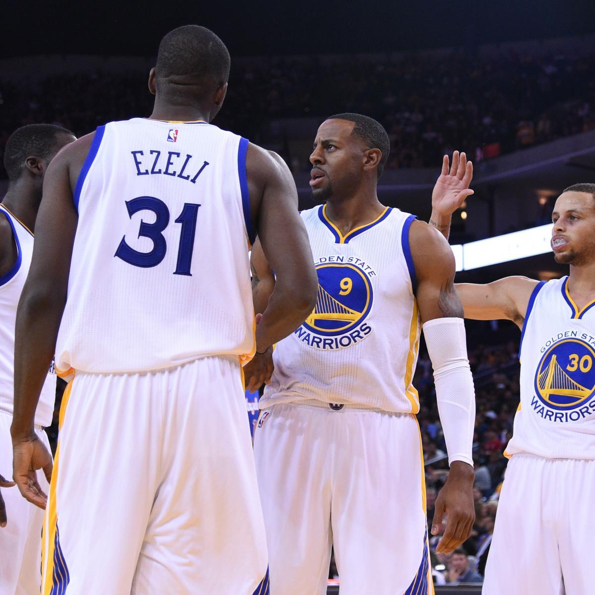 Grading Golden State Warriors' Final 15-Man Roster   Bleacher Report   Latest News, Videos and ...